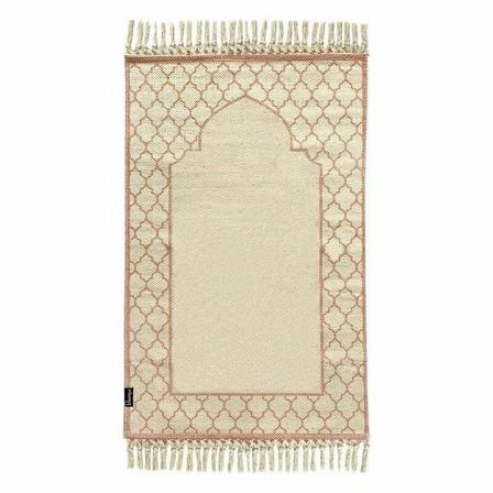 KHAMSA - Khamsa Organic Cotton Prayer Mat Zahri Pink (118 x 60 cm)