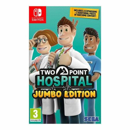 SEGA - Two Point Hospital - Jumbo Edition - Nintendo Switch