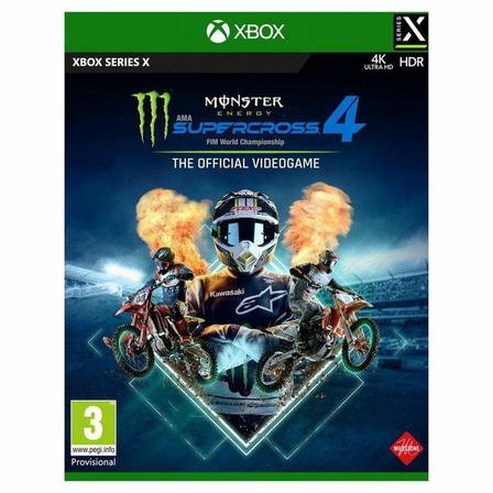 MILESTONE - Monster Energy Supercross The Official Videogame 4 - Xbox Series X