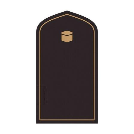 TAKVA - Takva The Pocket Sejadah Portable Prayer Mat Black