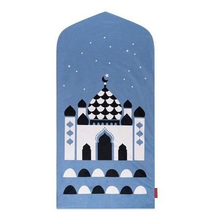 TAKVA - Takva Kids My First Prayer Mat Blue Mosque