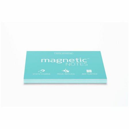 MAGNETIC STICKY NOTES - Magnetic Notes Aqua Blue M