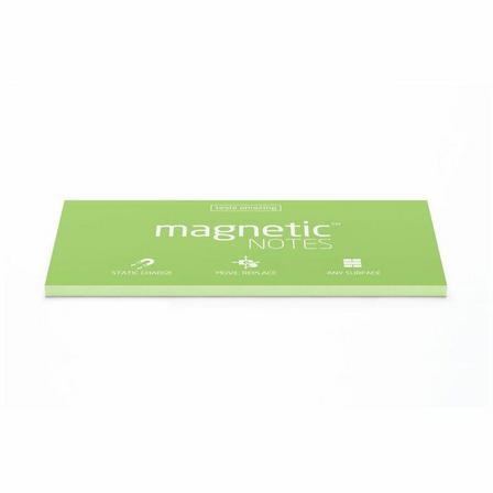 MAGNETIC STICKY NOTES - Magnetic Notes Mint Green L