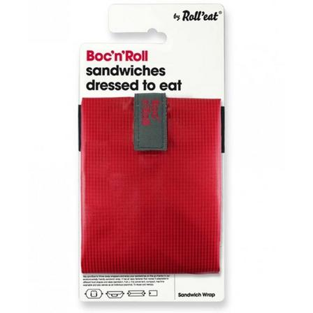 ROLL EAT - Roll'Eat Boc N'roll Square Red Lunch Kit