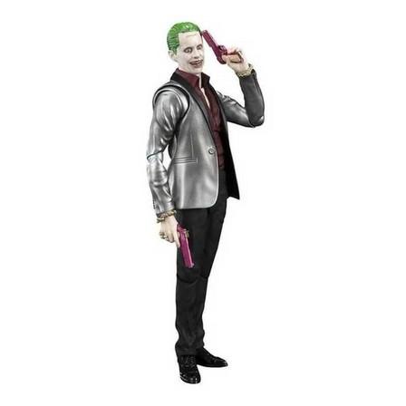 BANDAI - Bandai S.H. Figuarts Suicide Squad the Joker 5 Inch Action Figure