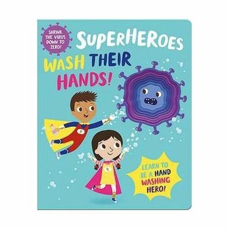 BOUNCE UK - Superheroes Wash Their Hands!