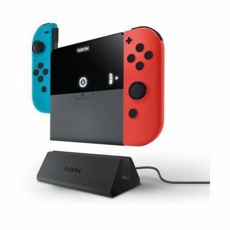 BIONIK - Bionik Portable Power System for Nintendo Switch & Joy-Con Controllers Black