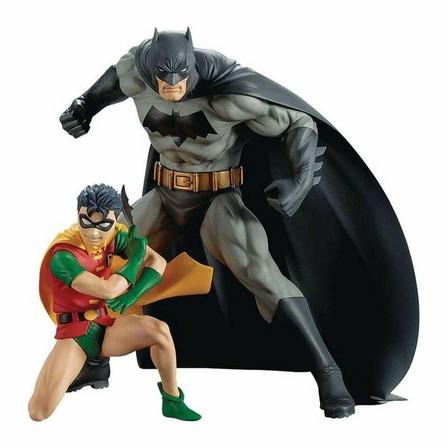 DIAMOND COMICS - Kotobukiya Dc Universe Batman & Robin Artfx+ 7 Inch Statue 2 Pack