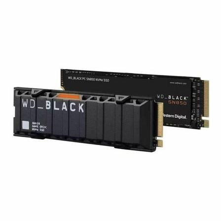 WESTERN DIGITAL - Western Digital 500GB WD_BLACK SN850 NVMe SSD without Heatsink [Internal Game Drive]