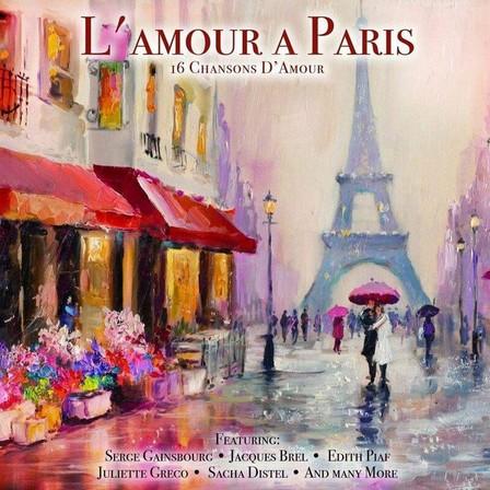 BELLEVUE PUBLISHING & ENTERTAINMENT - L'Amour A Paris   Various Artists