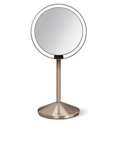 SIMPLEHUMAN - Simplehuman Sensor Mirror Round 12cm Rose Gold Steel