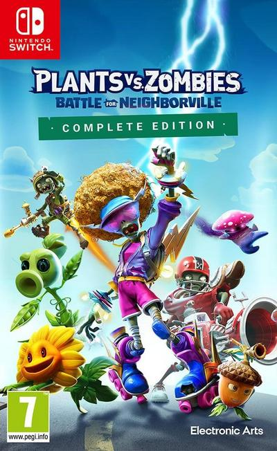 ELECTRONIC ARTS - Plants vs Zombies Battle for Neighborville - Complete Edition - Nintendo Switch