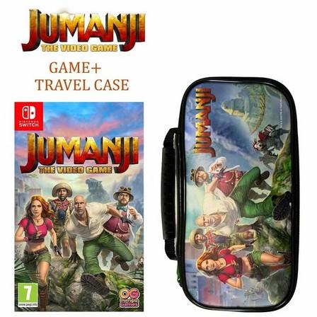 NAMCO BANDAI - Jumanji The Video Game - Travel Case - Nintendo Switch