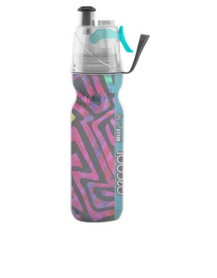 O2COOL - O2Cool Insulated ArcticSqueeze Mist 'N Sip Artist Collection No. 4 590ml Water Bottle