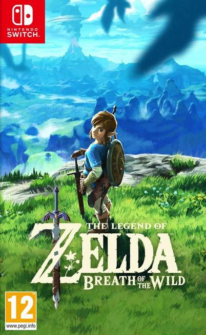 NINTENDO - The Legend of Zelda Breath of the Wild [Pre-owned]