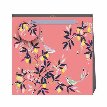 SARA MILLER - Sara Miller Coral Orchard Medium Bag