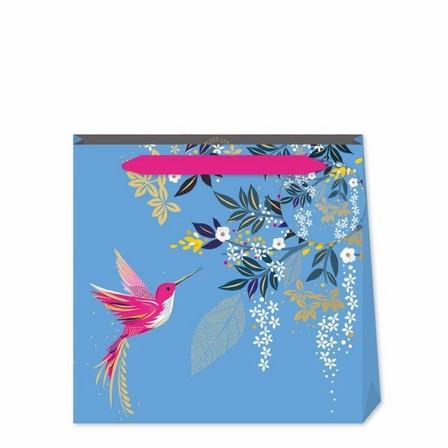 SARA MILLER - Sara Miller Blue Hummingbird Small Bag