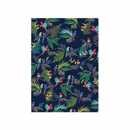 SARA MILLER - Sara Miller Parrot Flat Wrap