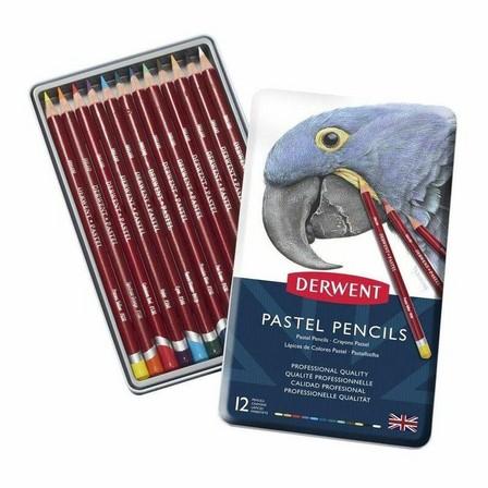 DERWENT - Derwent Pastel Pencil Colour Pencils (Set of 12)