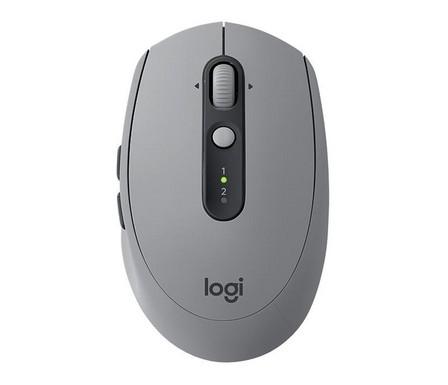 LOGITECH - Logitech M590 Wireless Mouse Grey Multi-Device