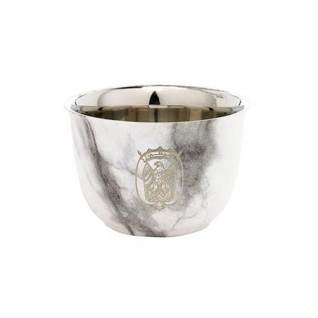 ROVATTI - Rovatti Pola Arabica Stainless Steel Cup Marble 80ml [Set of 6]