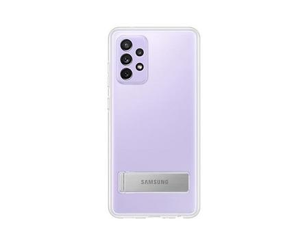 SAMSUNG - Samsung Clear Standing Cover Transparent for Galaxy A72