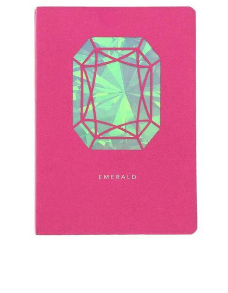 PORTICO DESIGN LTD - Portico Design Emerald Birthstone Pink A6 Notebook