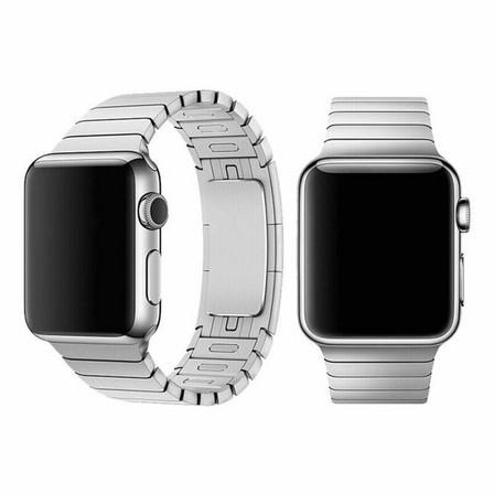 DEVIA - Devia Elegant Series Link Bracelet for Apple Watch 44mm Silver