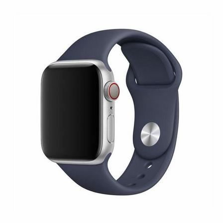 DEVIA - Devia Deluxe Series Sport Band for Apple Watch 44mm Midnight Blue