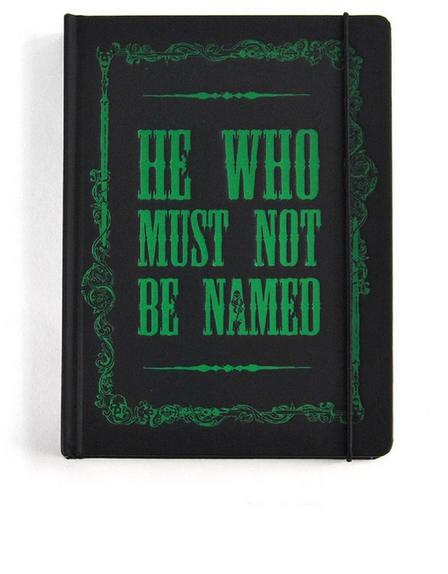 HALF MOON BAY - Harry Potter Voldemort A5 Notebook