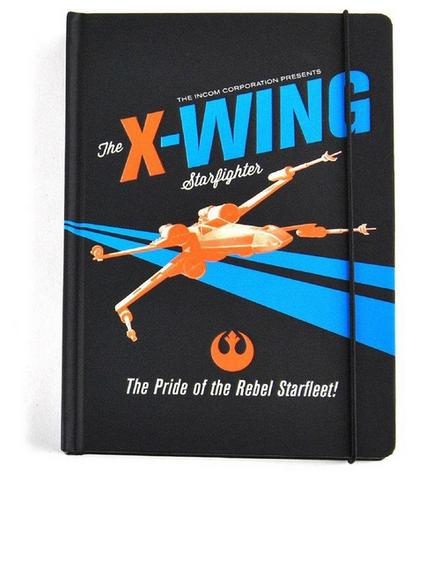 HALF MOON BAY - Star Wars X-Wing Icon A5 Notebook