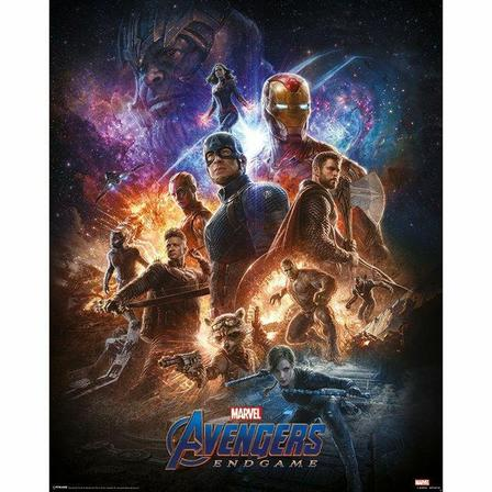 PYRAMID POSTERS - Pyramid Posters Marvel Avengers Endgame From The Ashes Mini Poster (40 x 50 cm)