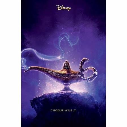 PYRAMID POSTERS - Pyramid Posters Disney Aladdin Movie Choose Wisley Maxiposter (61 x 91.5 cm)