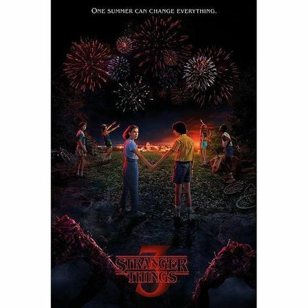 PYRAMID POSTERS - Pyramid Posters Stranger Things One Summer Maxi Poster (61 x 91.5 cm)