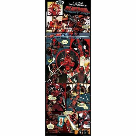PYRAMID POSTERS - Pyramid Posters Marvel Deadpool Panels Door Poster (53 x 158 cm)