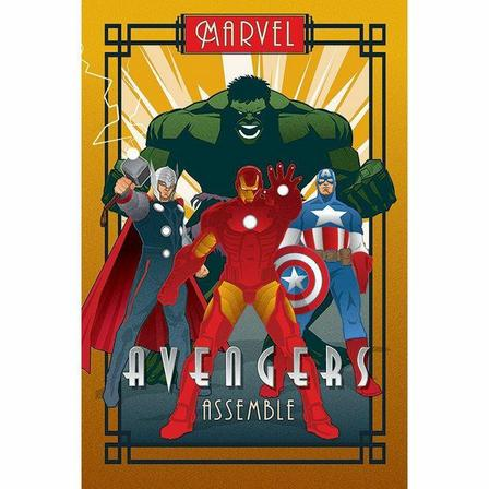PYRAMID POSTERS - Pyramid Posters Marvel Deco Avengers Maxi Poster (61 x 91.5 cm)