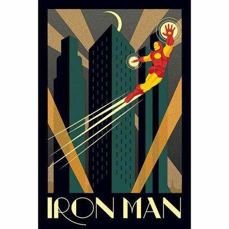 PYRAMID POSTERS - Pyramid Posters Marvel Deco Iron Man Maxi Poster (61 x 91.5 cm)