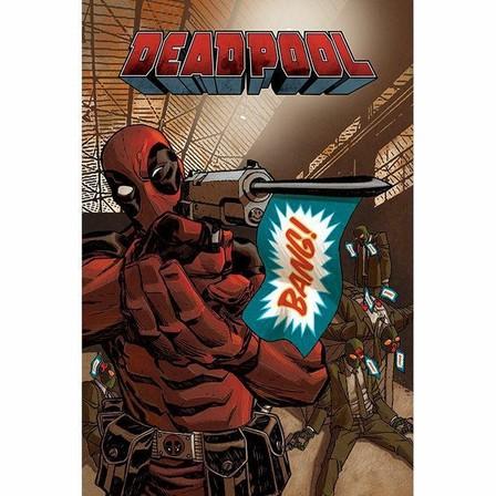 PYRAMID POSTERS - Pyramid Posters Marvel Deadpool Bang Maxi Poster (61 x 91.5 cm)