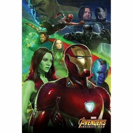 PYRAMID POSTERS - Pyramid Posters Marvel Avengers Infinity War Iron Man Maxi Poster (61 x 91.5 cm)