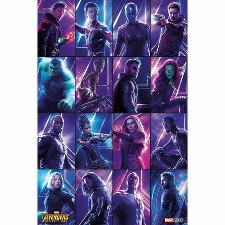 PYRAMID POSTERS - Pyramid Posters Marvel Avengers Infinity War Heroes Maxi Poster (61 x 91.5 cm)