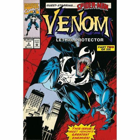 PYRAMID POSTERS - Pyramid Posters Venom Lethal Protector Part 2 Maxi Poster (61 x 91.5 cm)