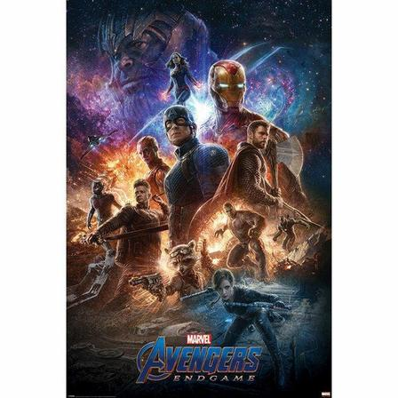 PYRAMID POSTERS - Pyramid Posters Marvel Avengers Endgame From The Ashes Maxi Poster (61 x 91.5 cm)