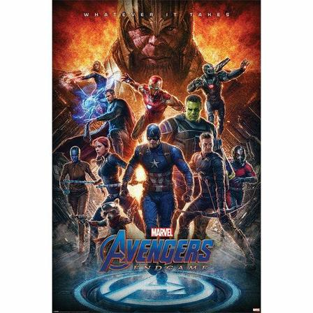 PYRAMID POSTERS - Pyramid Posters Marvel Avengers Endgame Whatever It Takes Maxi Poster (61 x 91.5 cm)