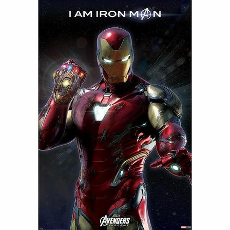 PYRAMID POSTERS - Pyramid Posters Marvel Avengers Endgame I Am Iron Man Maxi Poster (61 x 91.5 cm)