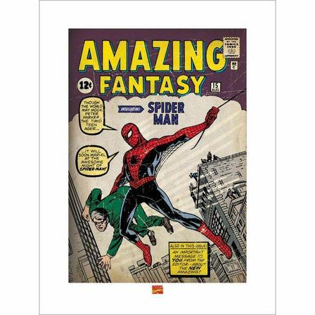 PYRAMID POSTERS - Pyramid Posters Marvel Spider-Man Issue 1 Art Print (60 x 80 cm)