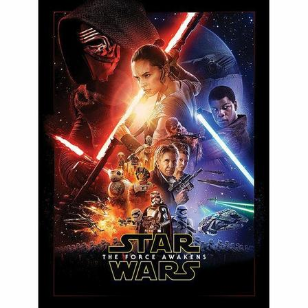 PYRAMID POSTERS - Pyramid Posters Star Wars Episode VII One Sheet Canvas Print (60 x 80 cm)