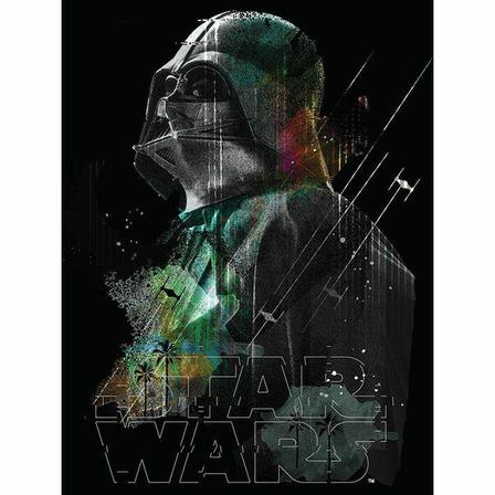 PYRAMID POSTERS - Pyramid Posters Star Wars Rogue One Darth Vader Lines Canvas Print (60 x 80 cm)