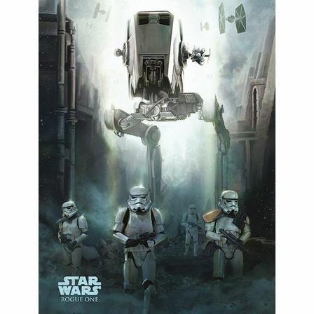 PYRAMID POSTERS - Pyramid Posters Star Wars Rogue One Stormtrooper Patrol Canvas Print (60 x 80 cm)