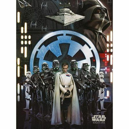 PYRAMID POSTERS - Pyramid Posters Star Wars Rogue One Empire Canvas Print (60 x 80 cm)