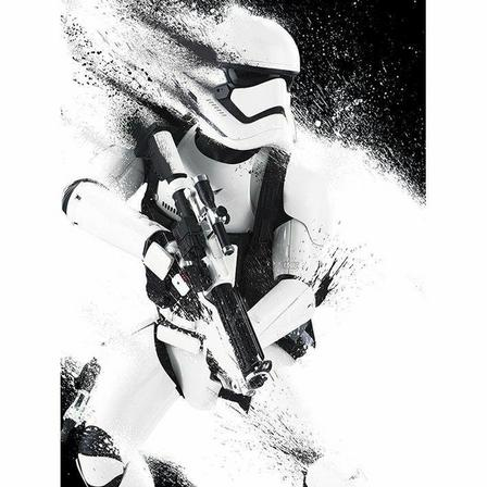 PYRAMID POSTERS - Pyramid Posters Star Wars Episode VII Stormtrooper Paint Canvas Print (60 x 80 cm)